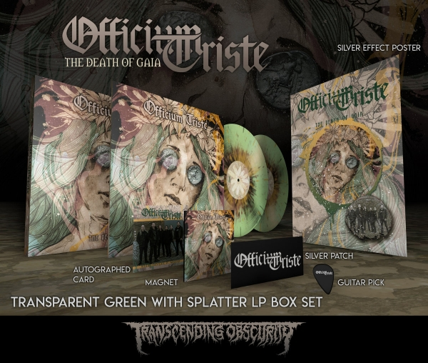 The Death Of Gaia (Splatter LP Box set)