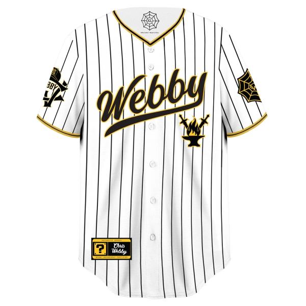 Webby Baseball Jersey