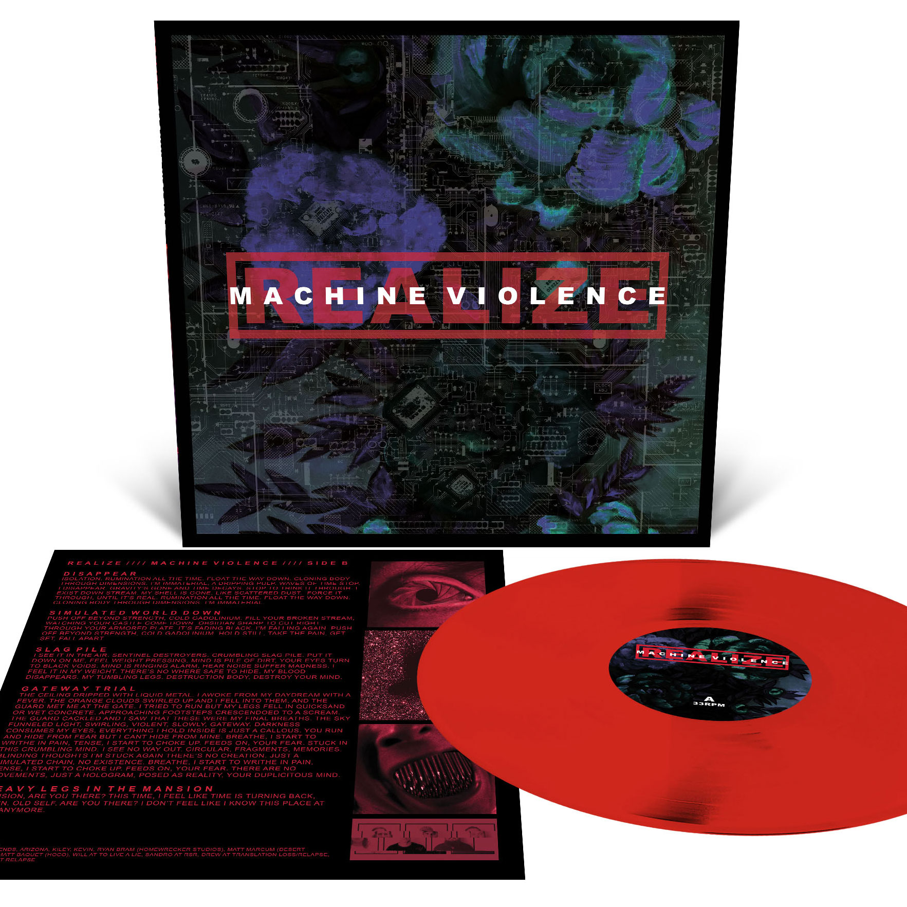Machine Violence T Shirt + LP Bundle