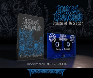 Pre-Order: Trinity of Deception Fully Transparent Blue Cassette