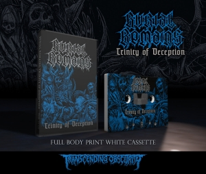 Pre-Order: Trinity Of Deception White Cassette