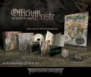The Death Of Gaia autographed CD box set