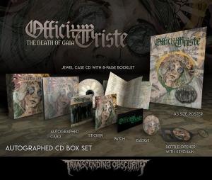 The Death Of Gaia autographed CD box set