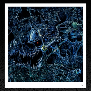 Desecrator 'Subconscious Release' Album Cover