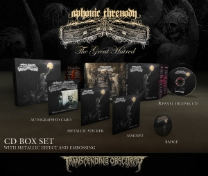 Pre-Order: The Great Hatred - CD Box set