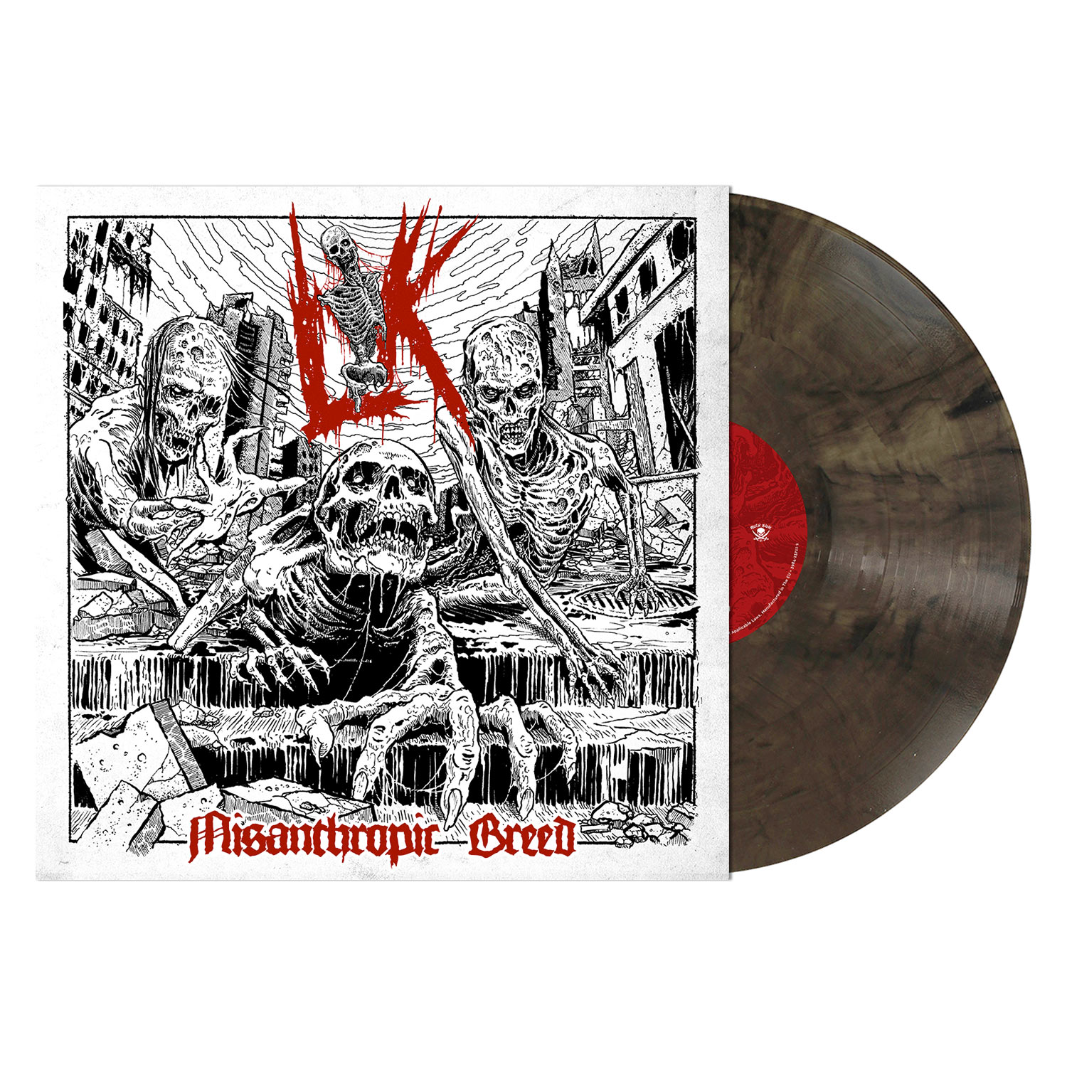 Misanthropic Breed (Warm Grey Marbled Vinyl)