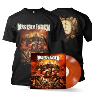 Heirs To Thievery Tee/LP Bundle (Translucent Orange)