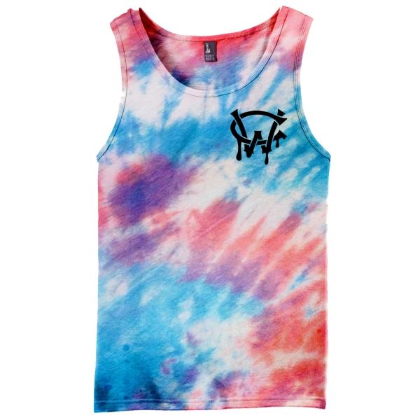 Tie Dye Web Tank Top