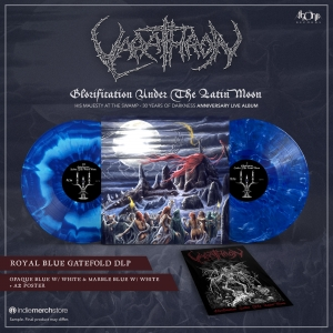 Pre-Order: Glorification Under The Latin Moon (blue)