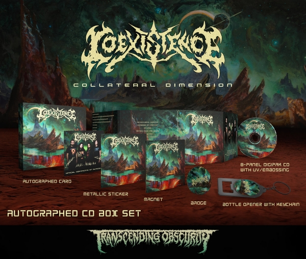 Collateral Dimension CD Box set