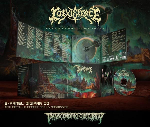 Collateral Dimension Digipak CD