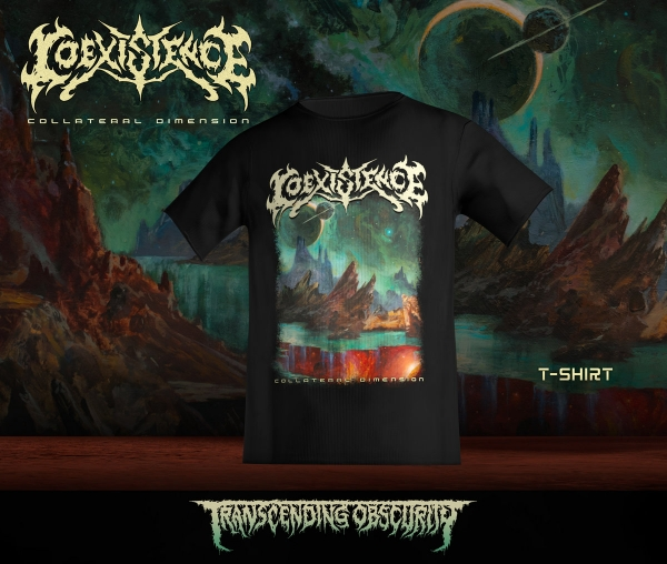 Collateral Dimension Album artwork T-shirt