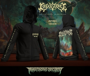 Collateral Dimension Zipped Hoodie