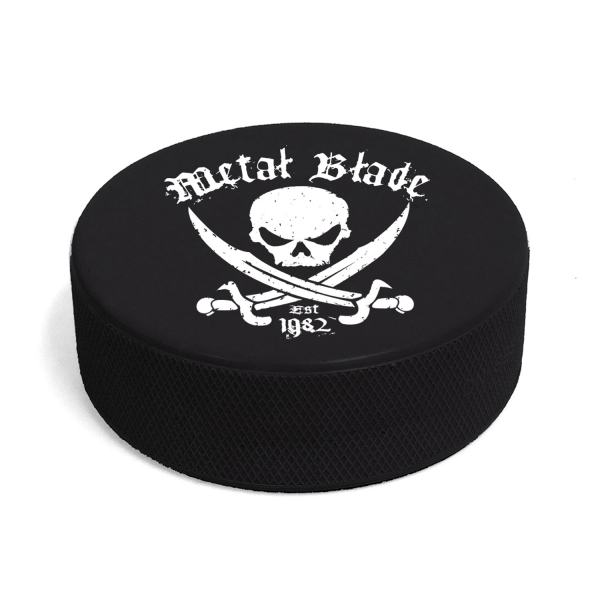 Pirate Logo Hockey Puck