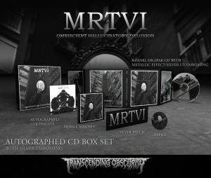 Pre-Order: Omniscient Hallucinatory Delusion CD Box set