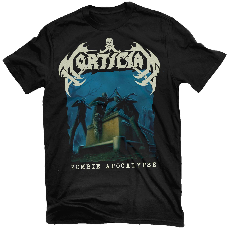 Zombie Apocalypse T Shirt + LP Bundle
