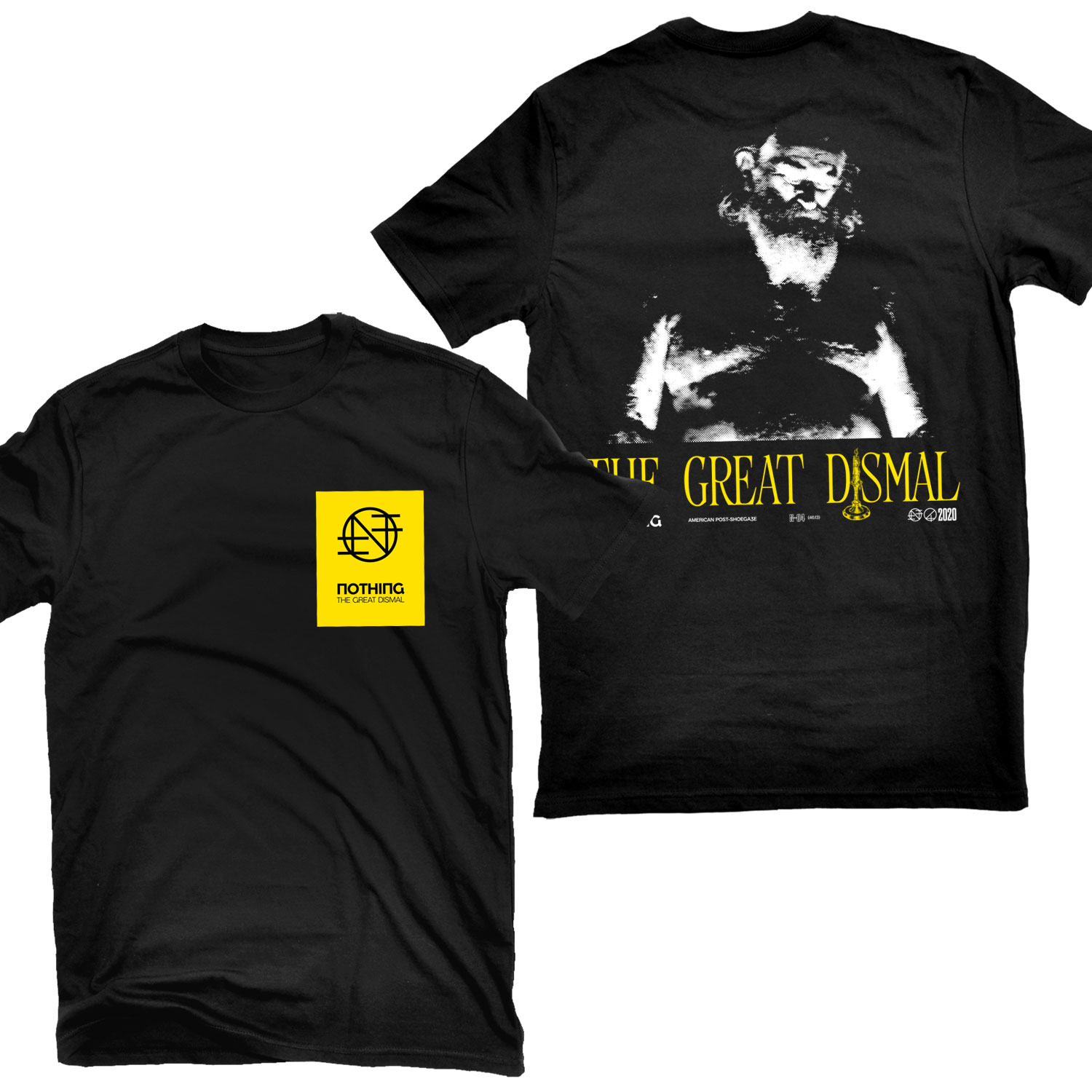 The Great Dismal T Shirt + LP Bundle