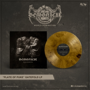 Pre-Order: World Domination ('plate of puke' vinyl)