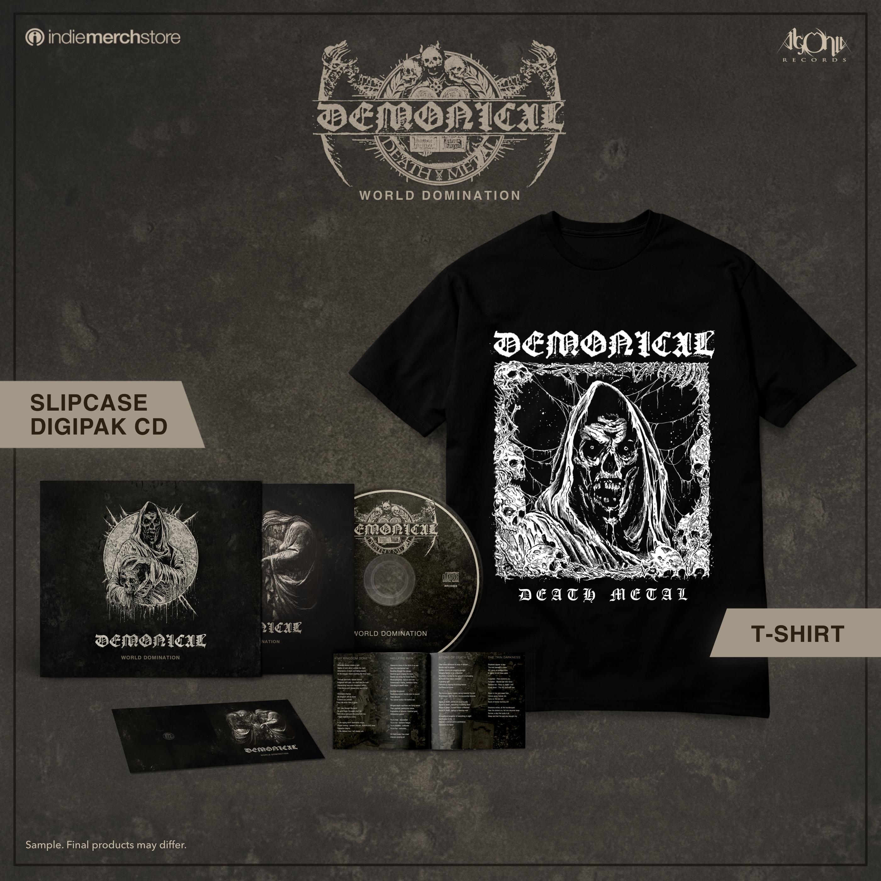 World Domination CD + Tee Bundle