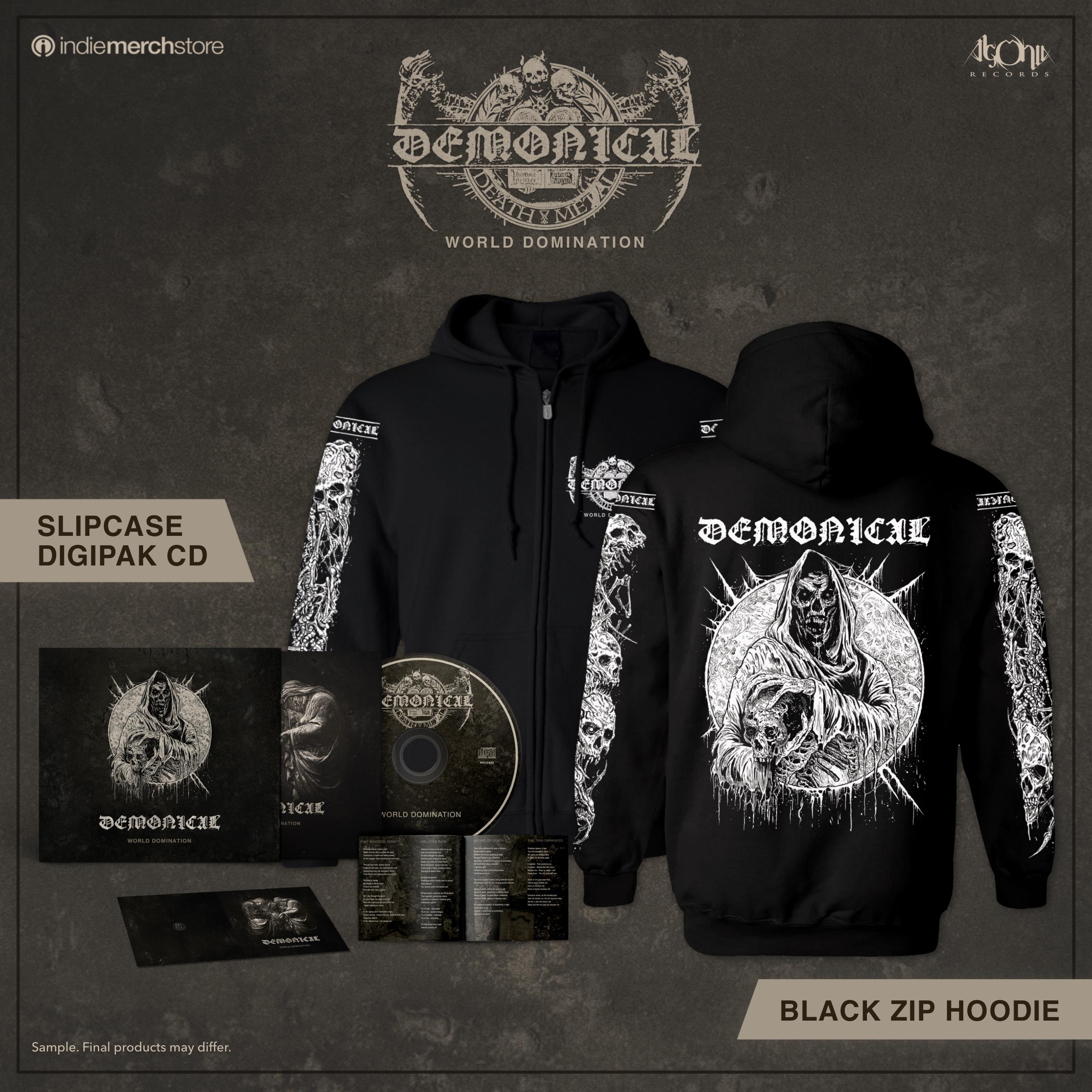 World Domination CD + Hoody Bundle