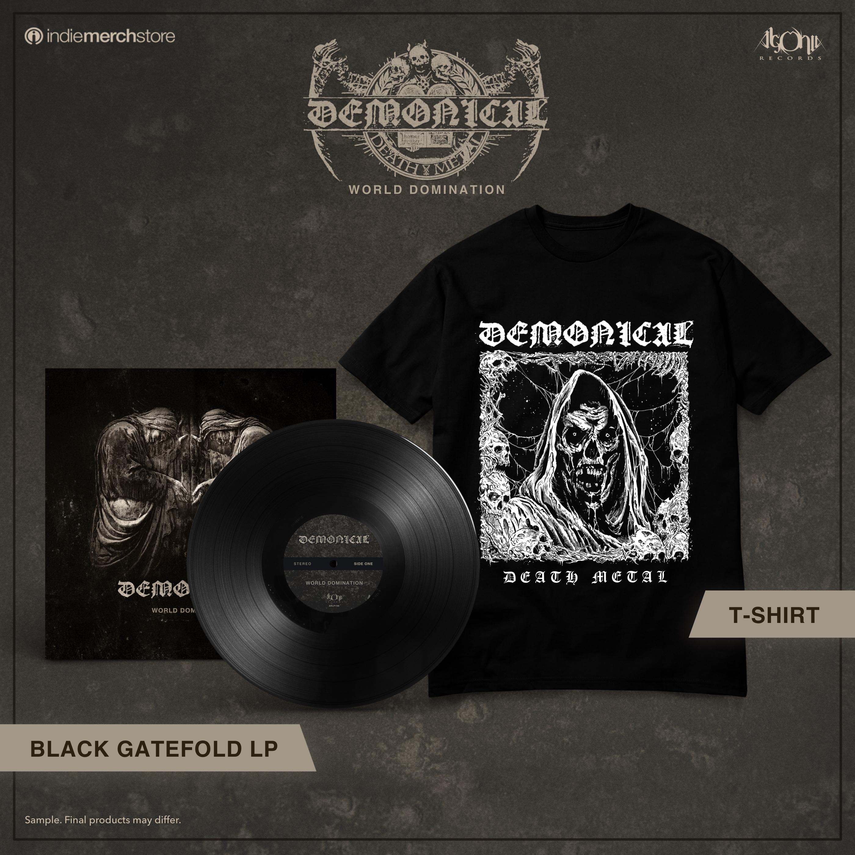 World Domination LP + Tee Bundle