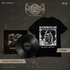 Pre-Order: World Domination LP + Tee Bundle