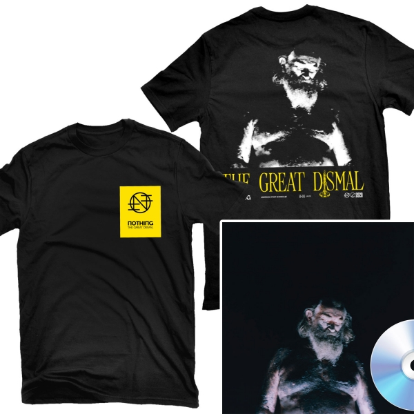 The Great Dismal T Shirt + CD Bundle