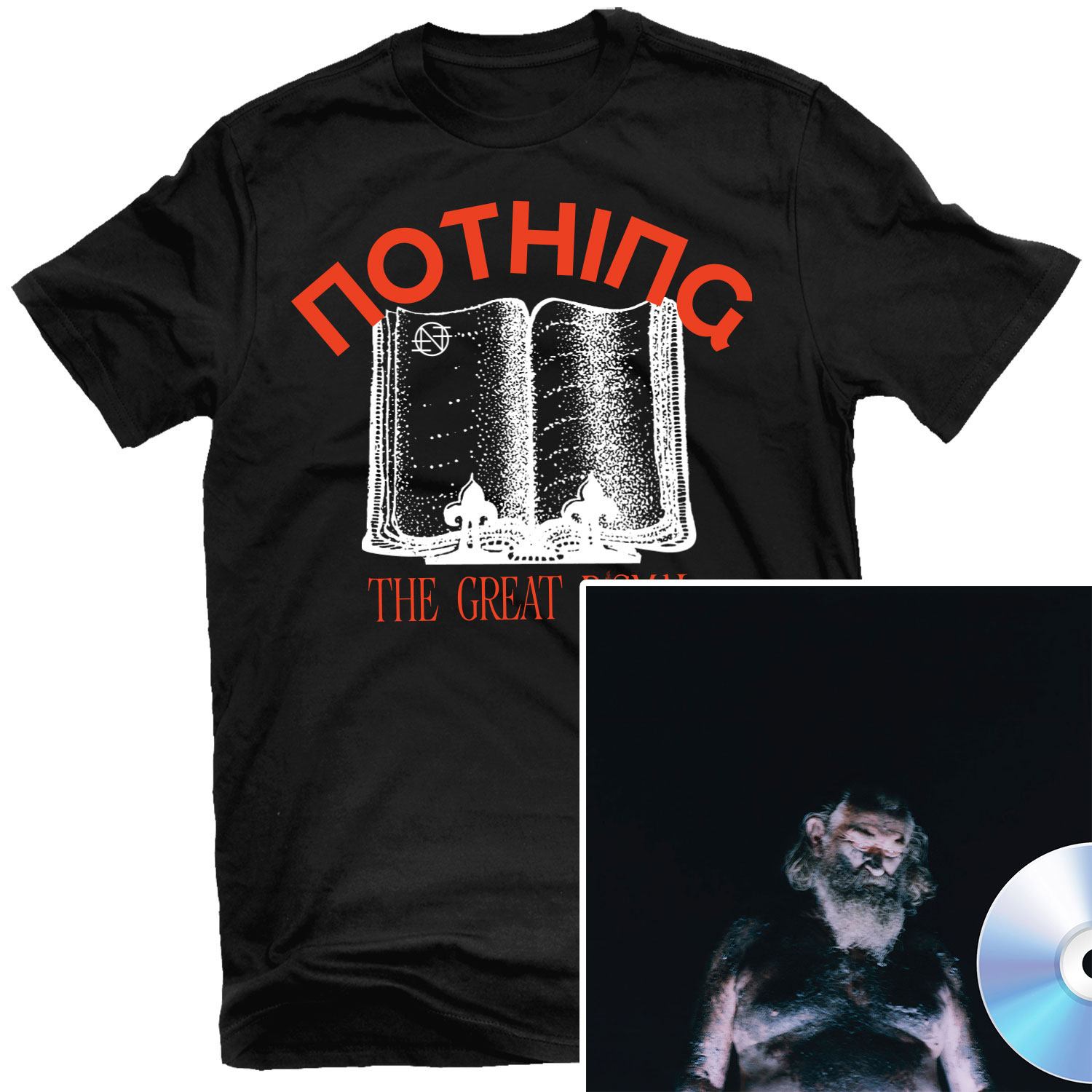 Just a Story T Shirt + The Great Dismal CD Bundle