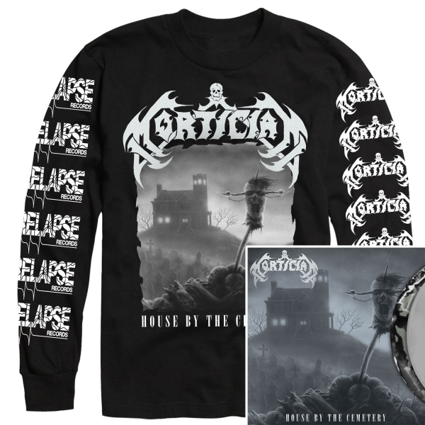 House by the Cemetery Longsleeve Shirt + LP Bundle