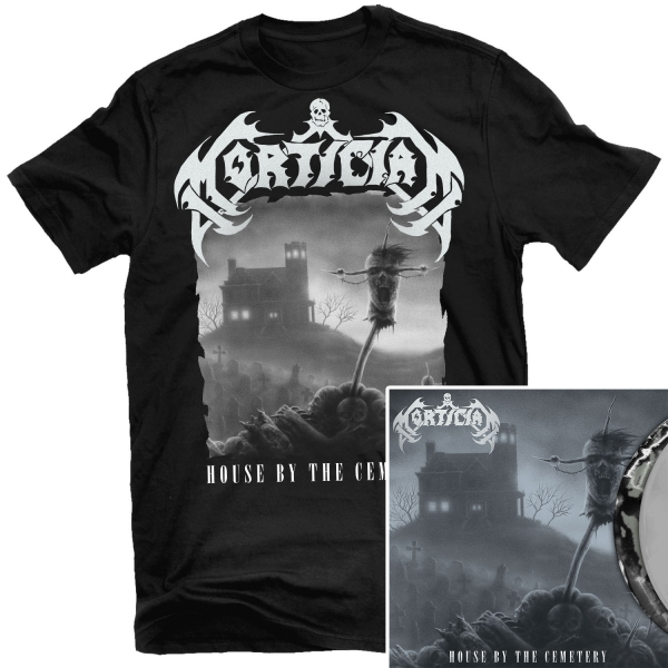 House by the Cemetery T Shirt + LP Bundle