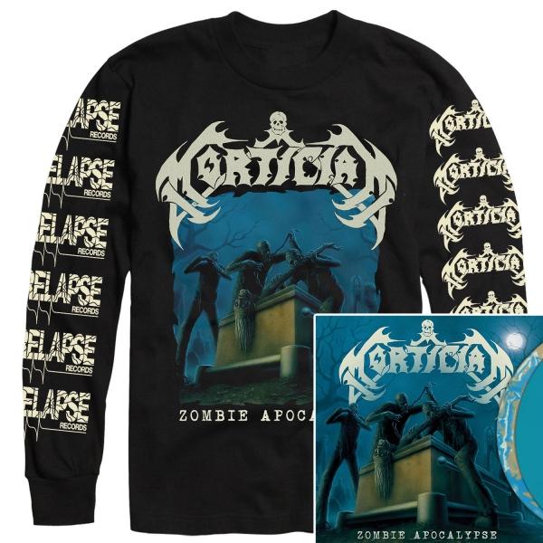 Zombie Apocalypse Longsleeve Shirt + LP Bundle