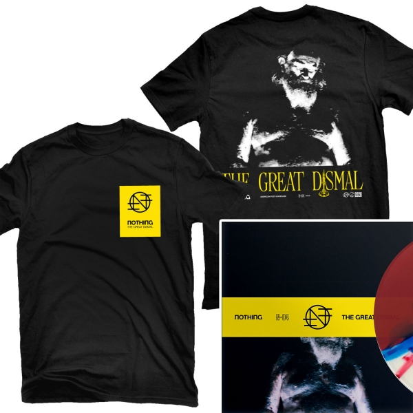 The Great Dismal T Shirt + LP Bundle