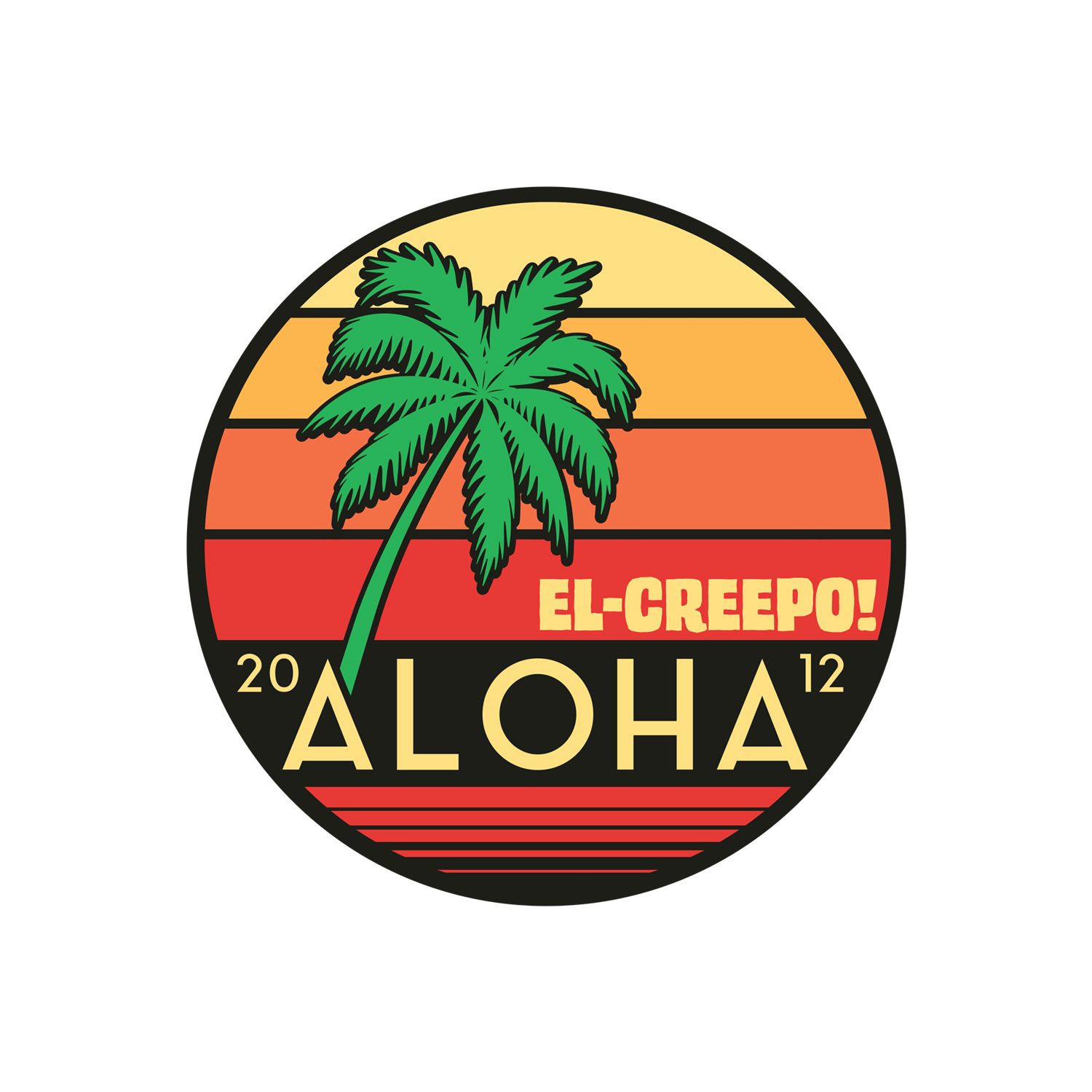 Aloha Cassette/Patch/Sticker Bundle