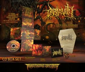 Grand Malevolence Coffin-Shaped Wooden CD Box Set