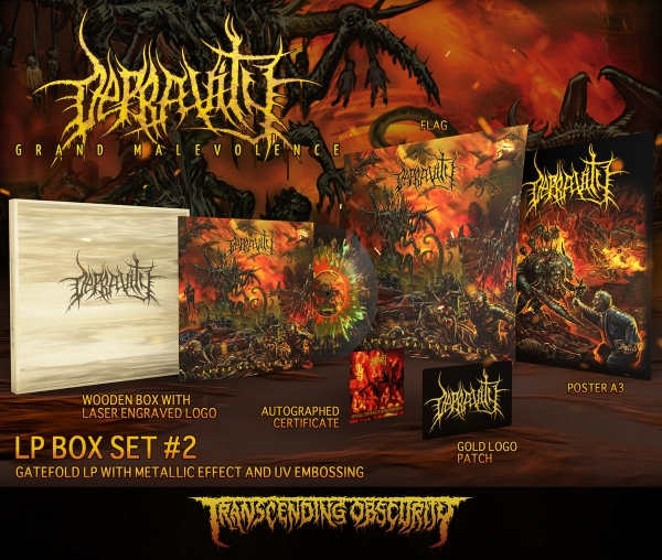 Grand Malevolence Variant #2 Wooden LP Box Set