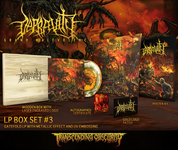 Grand Malevolence Variant #3 Wooden LP Box Set