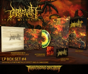 Pre-Order: Grand Malevolence Variant #4 Wooden LP Box Set