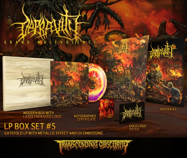 Grand Malevolence Variant #5 Wooden LP Box Set