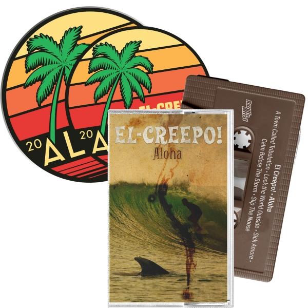 Aloha Cassette/Patch/Sticker Bundle