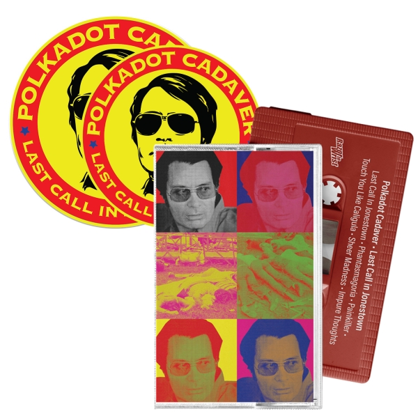 Last Call In Jonestown Cassette/Patch/Sticker Bundle