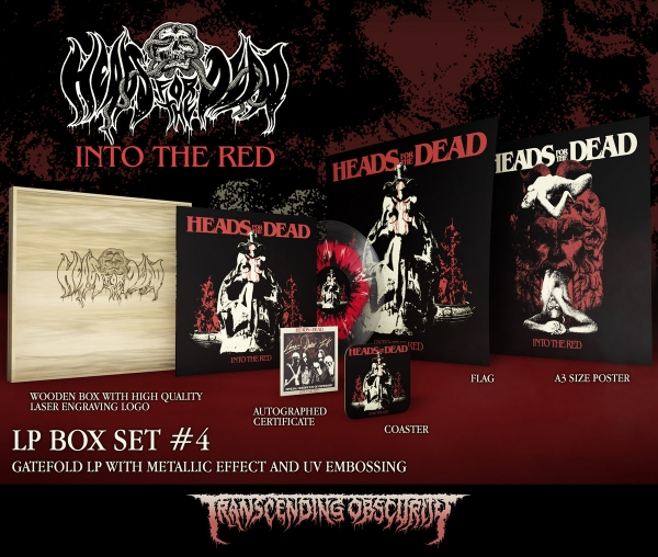 Into The Red Wooden LP Box