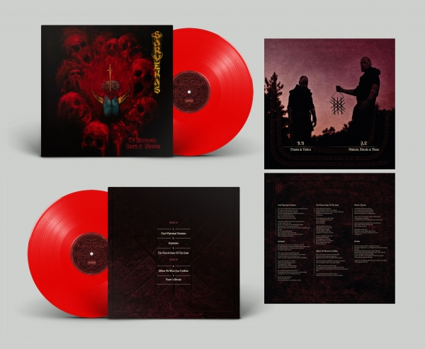 Of Atavistic Fury & Visions (transparent red vinyl)