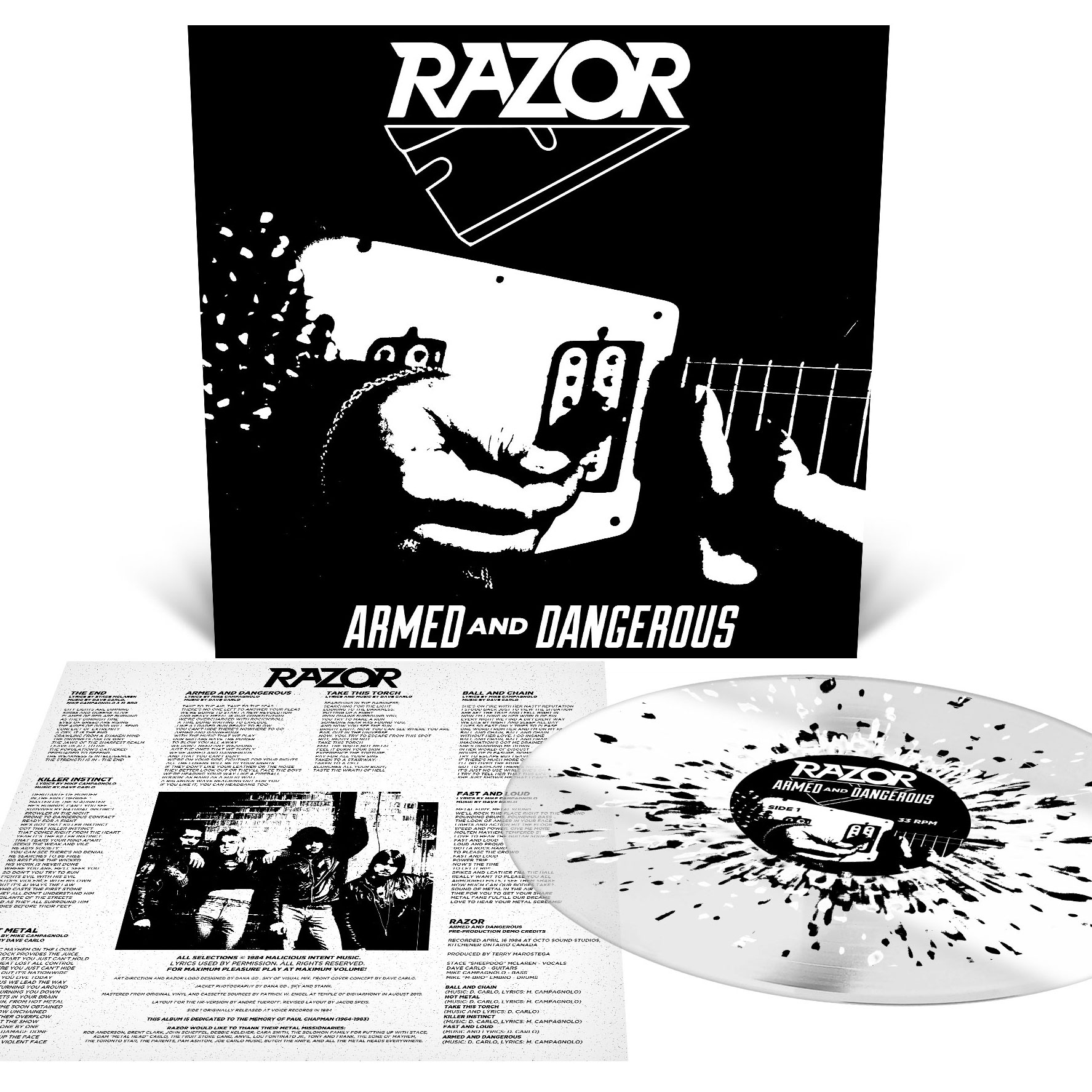 Armed and Dangerous Reissue