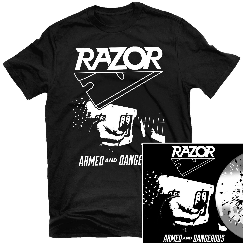 Armed and Dangerous T Shirt + LP Reissue Bundle