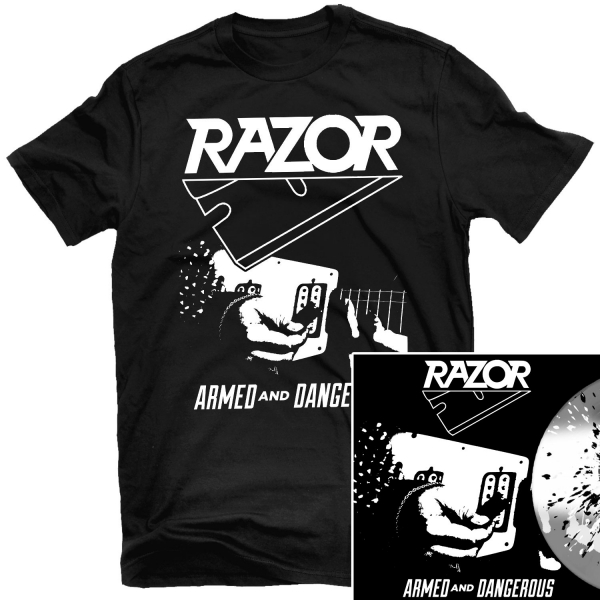 Armed and Dangerous T Shirt + LP Reissue Bundle