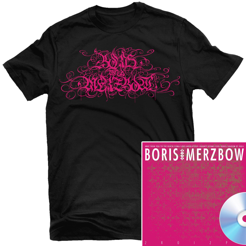 2R0I2P0 Logo T Shirt + CD Bundle