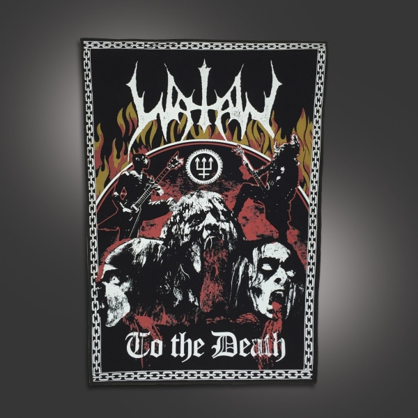 To The Death Back Patch