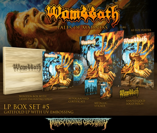 Tales of Madness Wooden LP Box Set