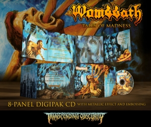 Pre-Order: Tales Of Madness Digipak CD