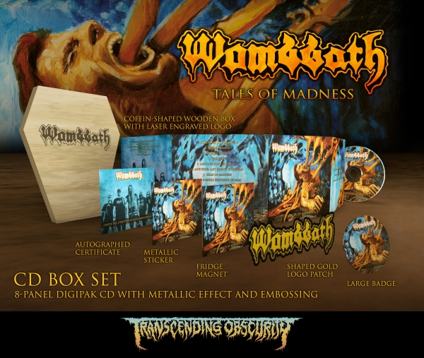 Tales Of Madness Coffin Box Set